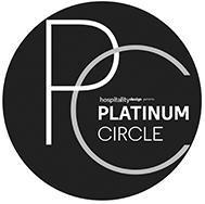 Hospitality Design Platinum Circle Awards logo 2017