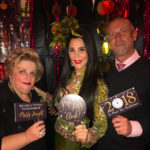 Barbara Lazaroff on New Year's Eve at Chinois On Main, Santa Monica