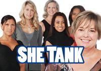 She Tank event logo image