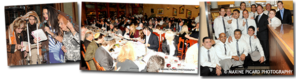 Spago's 26th Annual Seder hosted by Barbara Lazaroff 