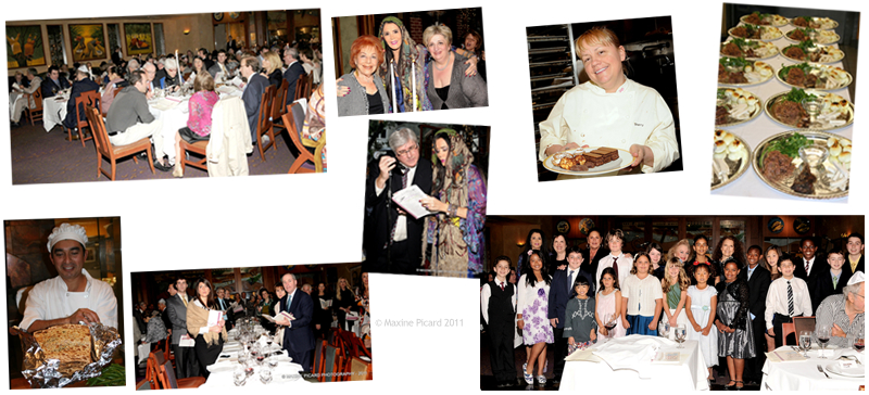 Spago's 27th Annual Seder held in 2011 by Barbara Lazaroff for the benefit of Mazon, A Jewish Response To Hunger