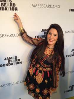 Barbara Lazaroff at James Beard 2014