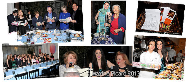 Barbara Lazaroff's Seder at Spago 2013