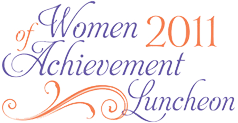 Friends of Sheba Women of Achievement Luncheon logo 2011