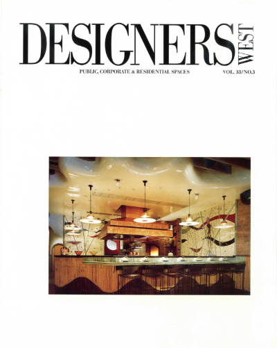 Designers West magazine Barbara Lazaroffs design of Chinois