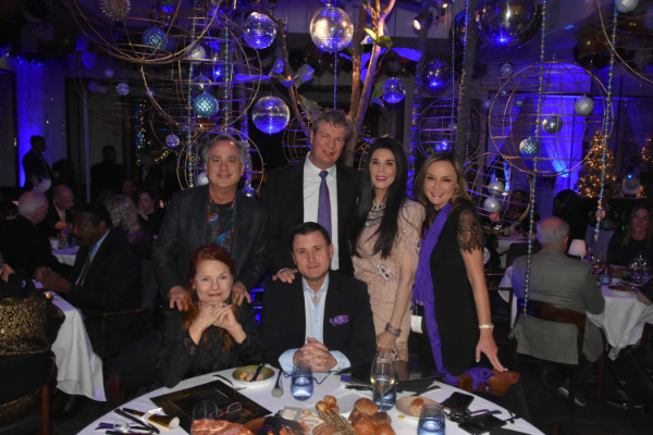 Barbara Lazaroff & friends Spago Beverly Hills ring in the New Years 2020