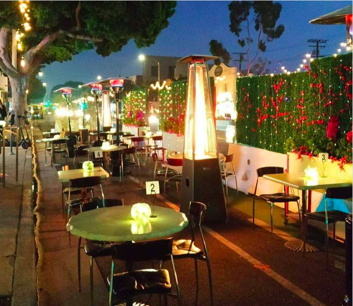 Outdoor Dining at Chinois On Main in Santa Monica!